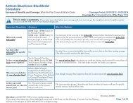 Anthem BlueCross BlueShield Coreshare - Medicoverage