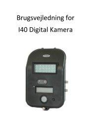 Brugsvejledning for I40 Digital Kamera - Korsholm Jagtrejser