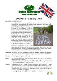 Duer-Buckinghameshire 2013.pdf - Buhls Jagtrejser