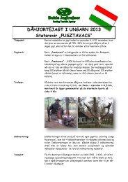 Daahjorte Pusztavacs 2013.pdf - Buhls Jagtrejser