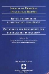 number 1 - Centre d'études et de recherches européennes Robert ...
