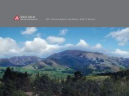 2007 Annual Report and Honor Roll of Donors - John Muir Health