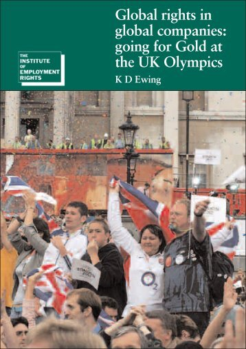 5846 olympics flyer.pdf - The Institute of Employment Rights