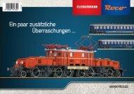 Liefertermine Neuheiten 2011 Marke Fleischmann - Model -Shop
