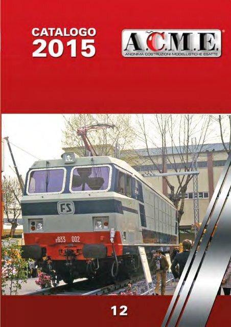 Torino ep III ACME 60448 locomotiva FS 636.391 castano isabella D.L