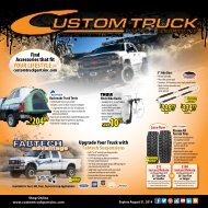 Flyer - Custom Truck Products
