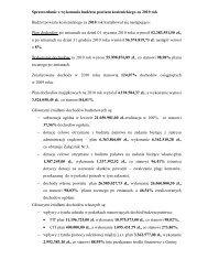 1b.Sprawozdanie z wykonania budżetu powiatu ... - Powiat Kozienice