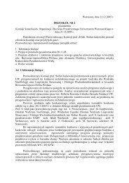 Warszawa, dnia 21.12.2005 r. PROTOKÓŁ NR 2 posiedzenia ...