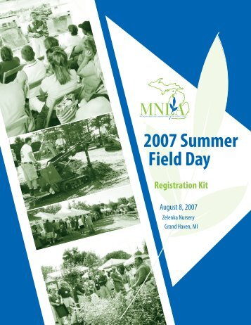 2007 Summer Field Day - Michigan Nursery and Landscape ...