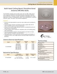 Multi-band Ceiling Mount Omnidirectional Antenna-698 MHz-6GHz