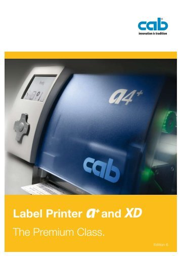 Label Printer and XD - linx