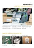 Label Printer and XD - linx - Page 4