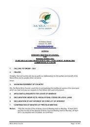Agenda of Ordinary Council Meeting - 20 May 2013 - Moira Shire ...