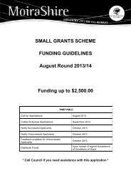 SMALL GRANTS SCHEME FUNDING GUIDELINES August Round ...