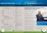 REGISTRATION FORM IN BUSINESS EXPO - Moira Shire Council