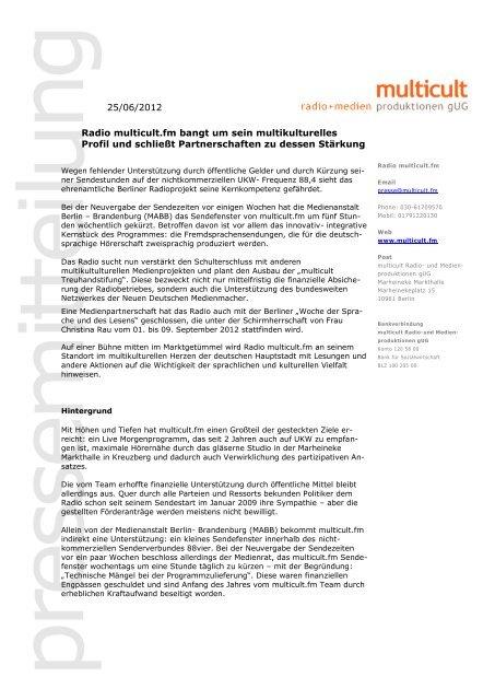 als PDF - Multicult.fm