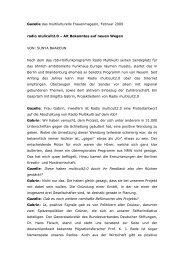 SUNYA BAAROUN - Multicult.fm
