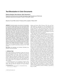 Text binarization in color documents