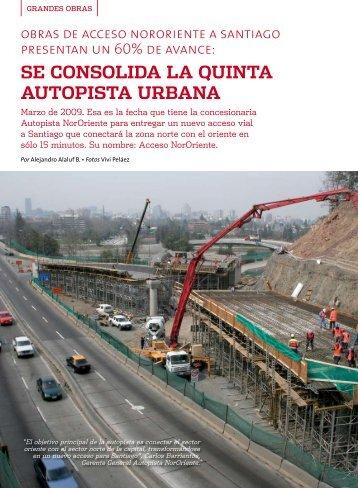 SE CONSOLIDA LA QUINTA AUTOPISTA URBANA - Biblioteca