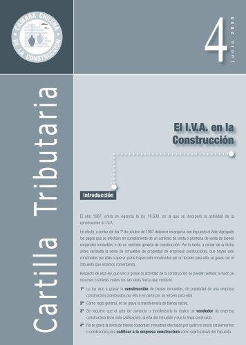 El I.V.A. en la Construcción - Biblioteca - Cámara Chilena de la ...