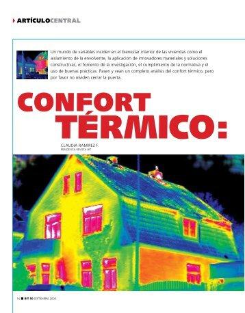 confort - Biblioteca - Cámara Chilena de la Construcción