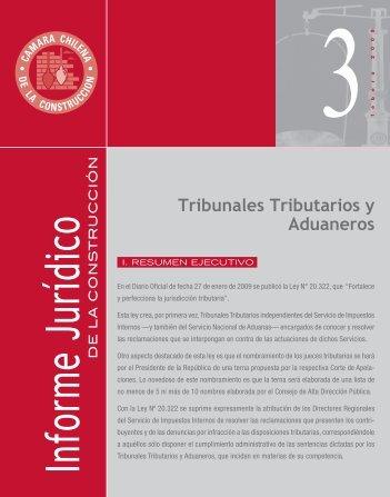 Tribunales Tributarios y Aduaneros - Biblioteca - Cámara Chilena ...