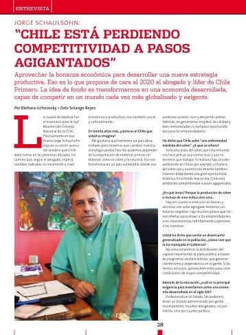 chile está perdiendo competitividad a pasos agigantados - Biblioteca