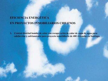 eficiencia energética en proyectos inmobiliarios chilenos - Biblioteca