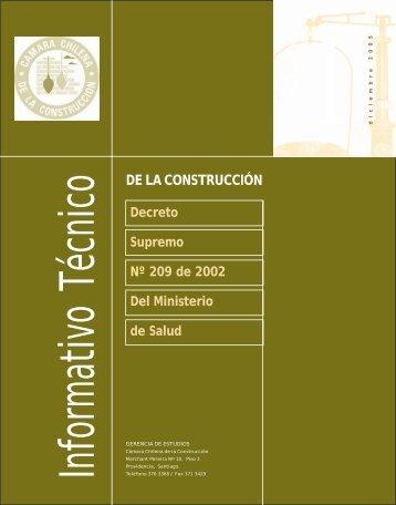 informe tecyport - Biblioteca - Cámara Chilena de la Construcción