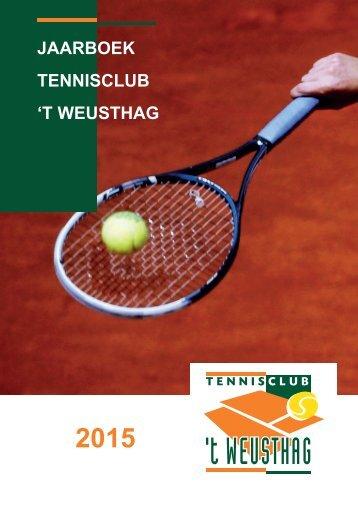 TC 't Weusthag Jaarboek 2015
