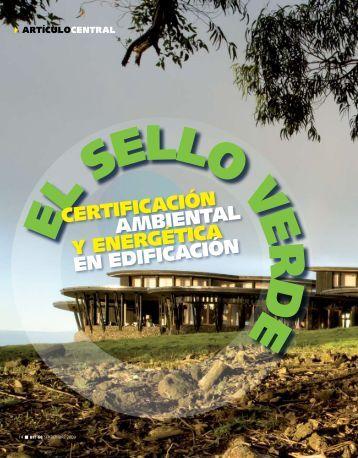 certificación ambiental y energética en edificación - Biblioteca