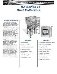 HA Series II Dust Collectors