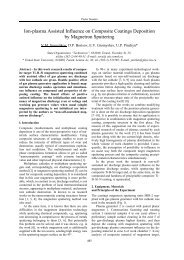 Ion-plasma Assisted Influence on Composite Coatings Deposition ...