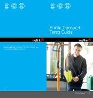 Public Transport Fares Guide 2012 - Metlink