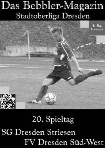 Das Bebbler-Magazin - 20. Spieltag - 2014/2015