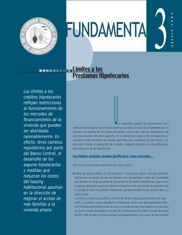 FUNDAMENTA 3 OK - Biblioteca - Cámara Chilena de la Construcción