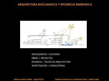 arquitectura bioclimatica y eficiencia energetica - Biblioteca