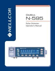 Nellcor N-595 Operator's Manual - Masimo