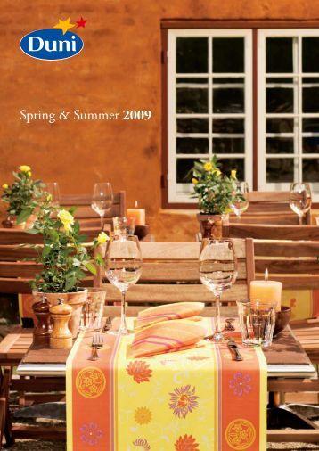 Spring & Summer 2009