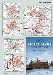 Gritting Routes 2012/13 - Bidford-on-Avon Parish Council