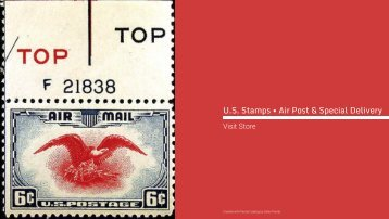 U.S. Stamps • Air Post & Special Delivery