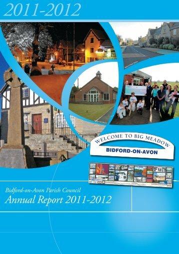 Annual Report 2011-12.indd - Bidford-on-Avon Parish Council