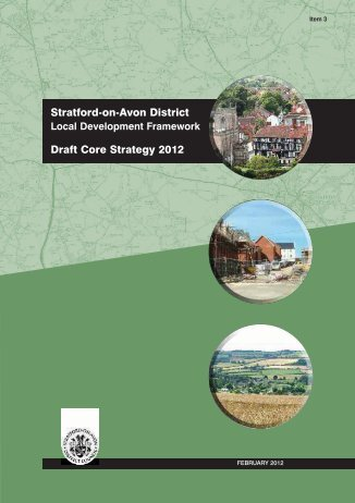 Draft Core Strategy - Bidford-on-Avon Parish Council