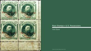 Rare Stamps • U.S. Possessions