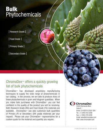 Bulk Phytochemicals