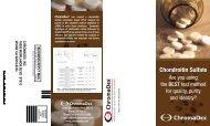 chromadex inc 10005 muirlands blvd ste g irvine ca 92618-9783 ...