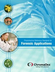 Forensic Phytochemical Standards