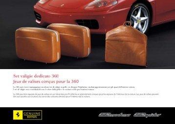 Set valigie dedicato 360 Jeux de valises conçus pour la 360