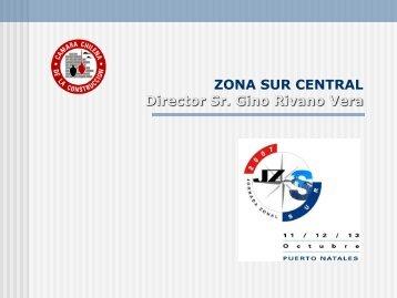 DELEGACIONES DE LA ZONA SUR CENTRAL - Biblioteca