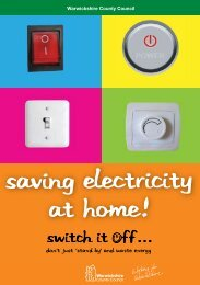 Switch it Off at Home Guide - Act on Energy